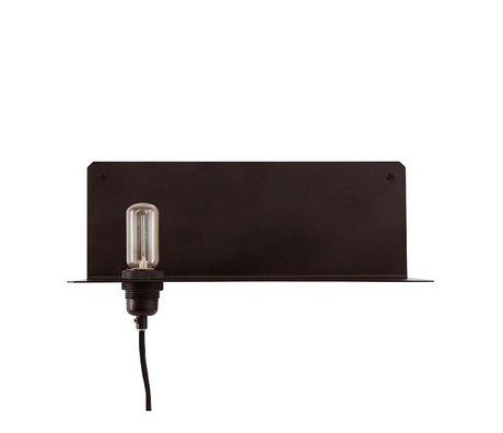 Frama Wandleuchte 90 ° wand schwarz Metall 40x15x15cm