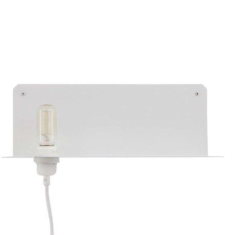 Frama Wall lamp 90 ° wall white metal 40x15x15cm
