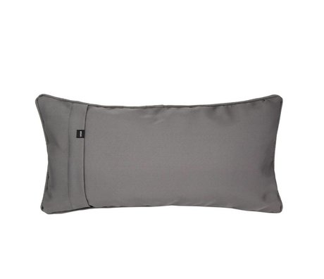 Vetsak Cushion Free outdoor gray polyester 60x30cm