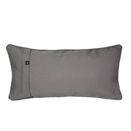 Vetsak Sierkussen Free outdoor grijs polyester 60x30cm