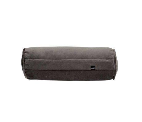 Vetsak Cushion Noodle Velvet dark gray velvet 42xØ16cm