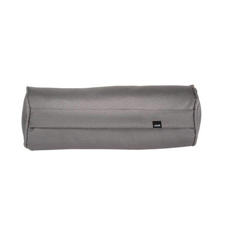 Vetsak Coussin en polyester gris extérieur gratuit nouilles 42xØ16cm
