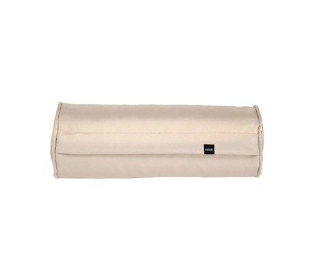 Vetsak Coussin de nouilles extérieur gratuit 42xØ16cm polyester beige