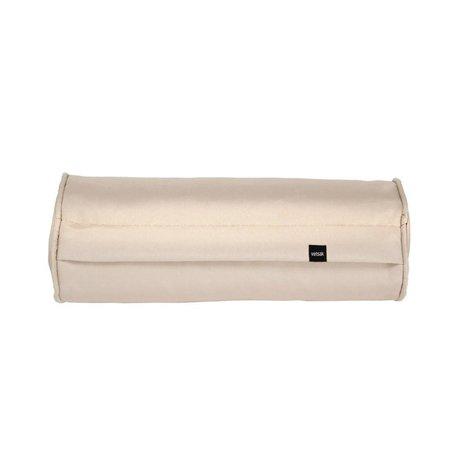 Vetsak Kissen Nudel im Freien gratis beige Polyester 42xØ16cm