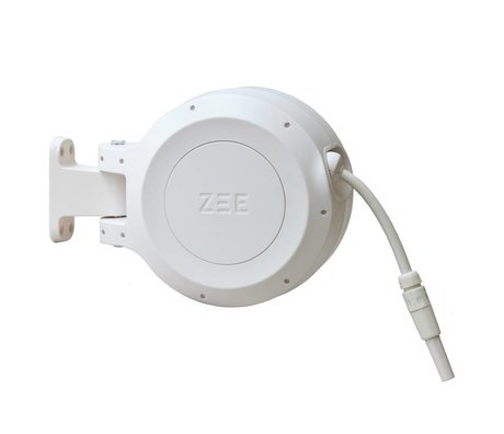 ZEE Mirtoon hose reel 10m white