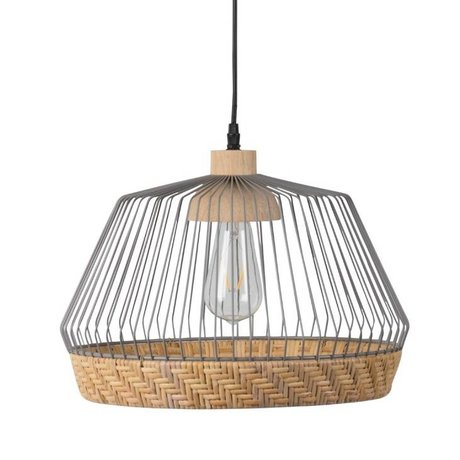 Zuiver Suspension Birdy large Ø31x27x150cm gris, métallique