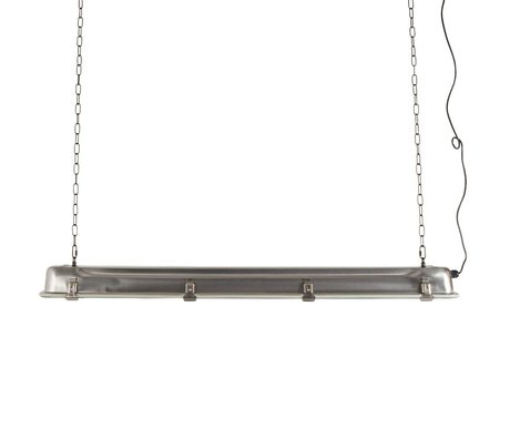 Zuiver Hanglamp G.T.A. grijs nikkel metaal XL 130x14x10cm