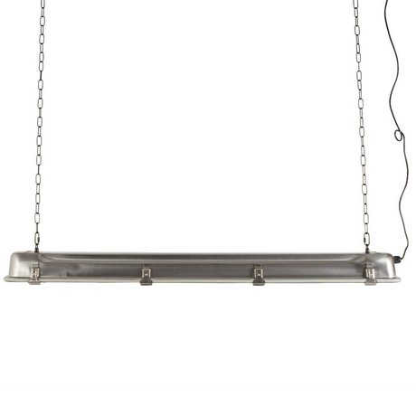 Zuiver Pendelleuchte GTA grau Nickel-Metall-XL 130x14x10cm