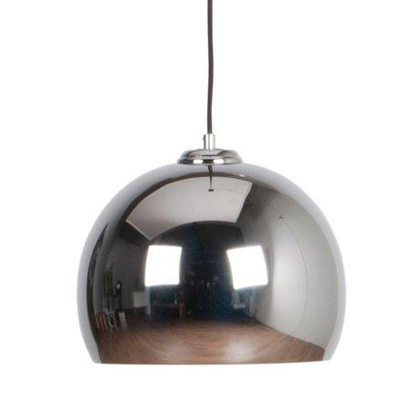Zuiver Große Pendelleuchte Glow Chrom-Metall-Ø27x21cm