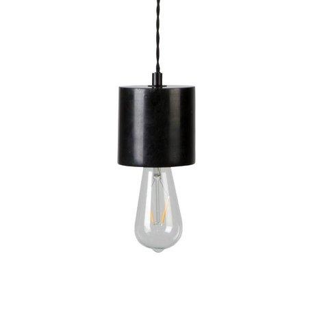 Zuiver Trust hanging lamp black marble Ø10x150cm