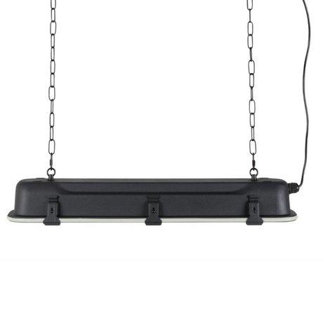 Zuiver Hanglamp G.T.A black, metaal zwart 70x14x10cm