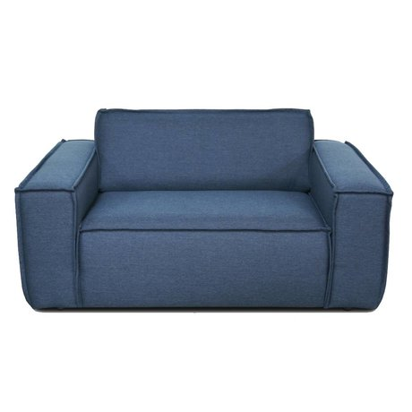 FÉST Edge recliner loveseat manufactures sydeney 80 blue textile 148x103cm