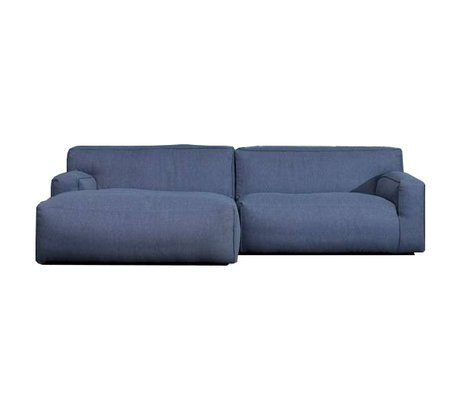 FÉST Bank 'Clay' dark blue Sydney80 1.5-seater and longchair left or right