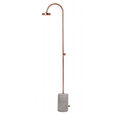 Seletti Outside shower Aquart lux buyer concrete 220cm