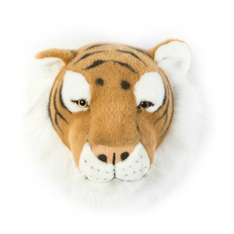 Wild and Soft Animal tiger Felix brown textile 27x22x23cm