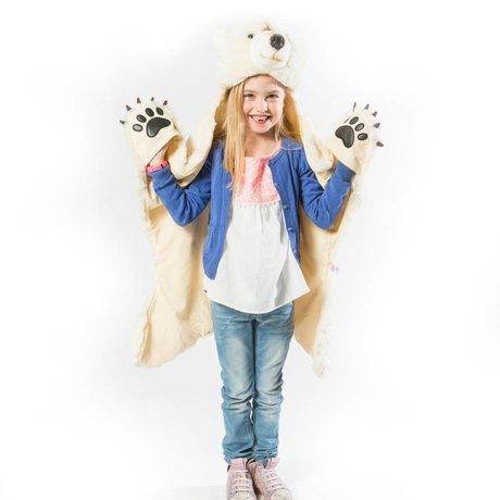 Wild and Soft Verschleiern Polarweiß Textil 101x126x20cm