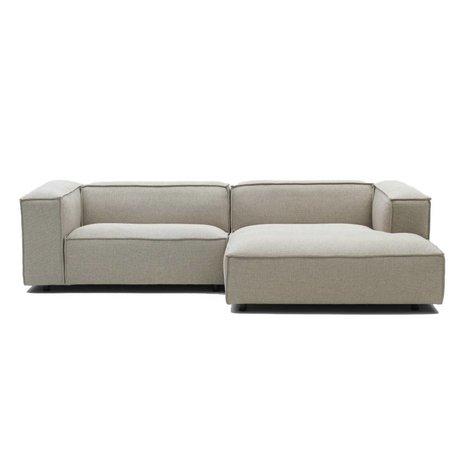 FÉST Dunbar Bank beige Polvere21 1,5-Sitzer Sofa und links oder rechts