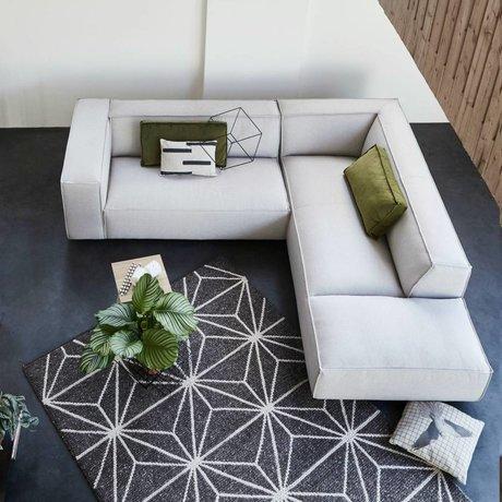 FÉST Sofa Dunbar beige Polvere21 1,5-Sitzer und Langstuhl links oder rechts