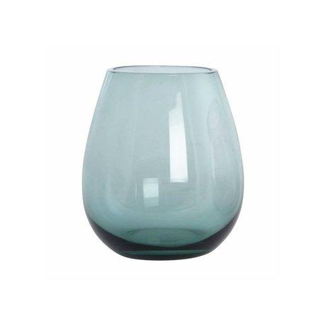Housedoctor Boule en verre verre vert h: 10 cm