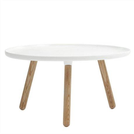 Normann Copenhagen Schaden Tabelle Tablo weißen Plastik Asche ø78cm