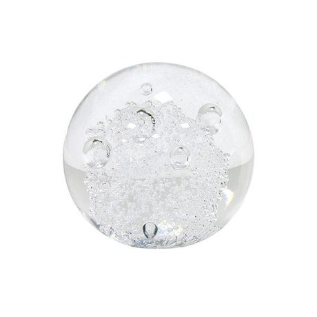 HK-living Verre globe paperweight 8,5x8,5x8,5cm