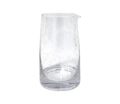 HK-living 11,5x11,5x18,5cm en verre transparent de 70 Carafe