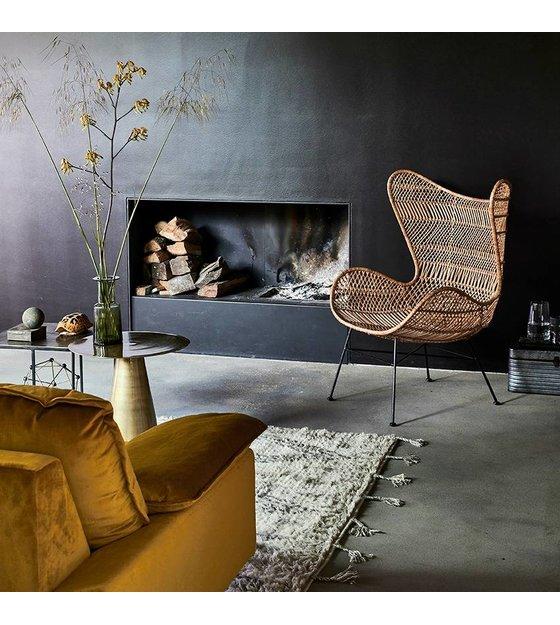 Hk Living Egg Chair.Hk Living Chair Bohemian Olive Green Rattan Egg Chair 74x82x110cm