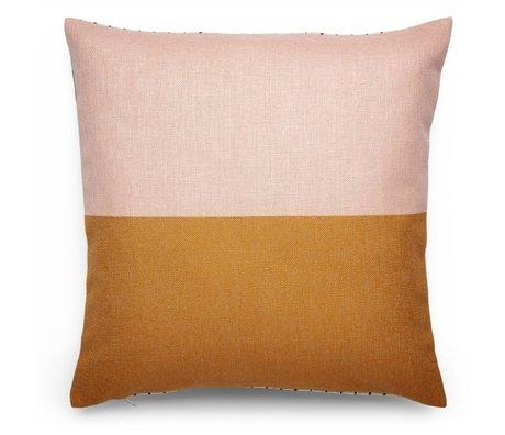 FÉST Ornamental Blush (FEST x Mae Engelgeer) multicolored cotton 45x45cm