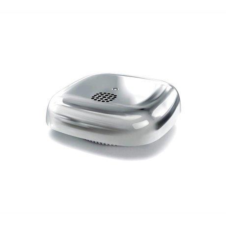 Jalo Rauchmelder 10 Kupu Silber photochromen Kunststoff 11x11x3,9cm