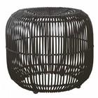 Housedoctor Stool, Modern, black, dia.: 52 cm, h.: