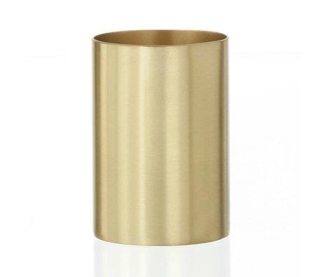Ferm Living Porte-gobelet / porte-stylo Coupe en laiton laiton Ø6x9cm