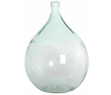Housedoctor Bottle / vase 100% recycled glass Ø40cm height 56cm 34lt