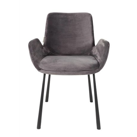 Zuiver CHAISE Brit 59x62x79cm polyester noir