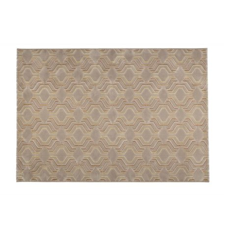 Zuiver Flooring Grace beige textile 230x160cm