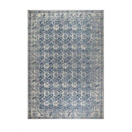 Zuiver Tapis Malva coton bleu denim 240x170cm