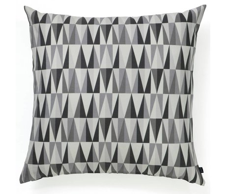 Ferm Living Floor Cushion SPEAR organic cotton 80x80cm gray