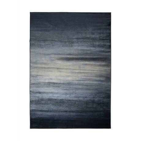 Zuiver Floor cover Obi blue textile 240x170cm