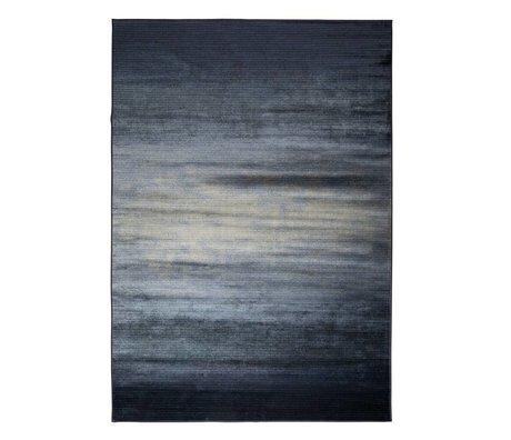 Zuiver Vloerkleed Obi blauw textiel 300x200cm