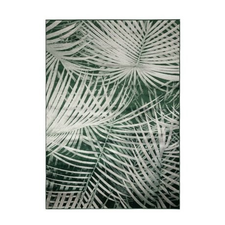 Zuiver Floor cover Palm by day green textile 240x170cm