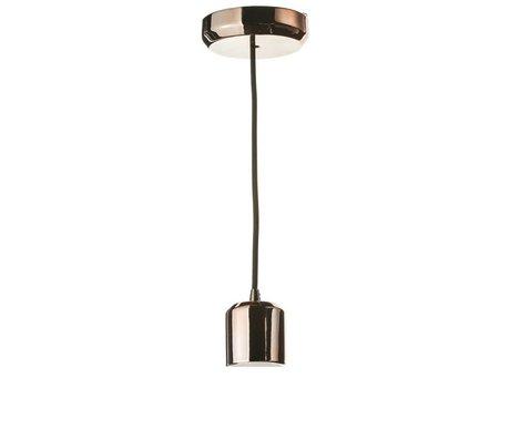 Seletti Lampe de cordon d'éclairage à LED crystaled 240cm