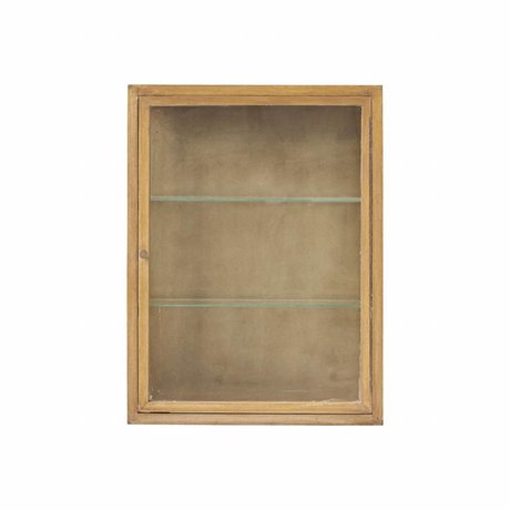 Housedoctor Placard Madi naturel chêne marron bois 660X22x80cm