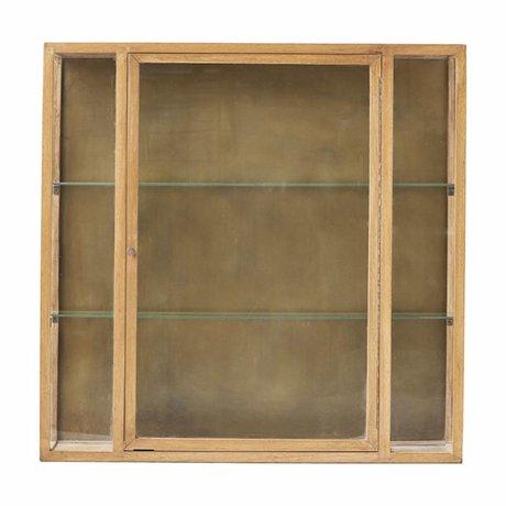 Housedoctor Kast Madi naturel bruin eiken hout 100x22x100cm