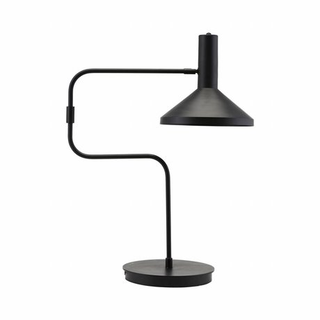 Housedoctor Lampe de table métal noir 66cm