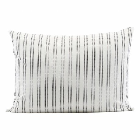 Housedoctor Cushion Cover Additionally White Cotton 50x30cm
