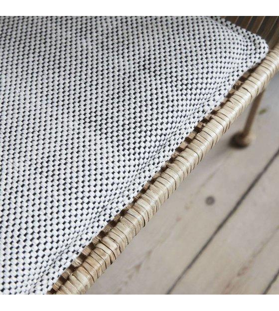 Miraculous Housedoctor Seat Cushion Coon Gray Cotton 117X48Cm Machost Co Dining Chair Design Ideas Machostcouk