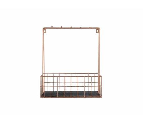 pt, 36x30x15cm Küche Rack Kupfermetall