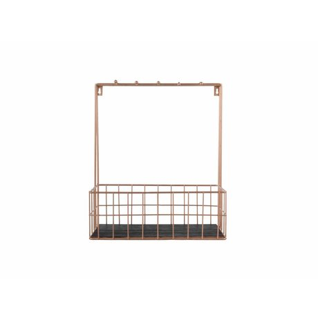 pt, Kitchen rack copper metal 36x30x15cm