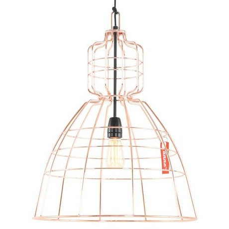 Anne Lighting Hanglamp Anne MarkllI Orange Kupfermetall ø43x68cm