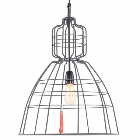 Anne Lighting Hanging lamp Anne MarkllI gray metal ø43x68cm