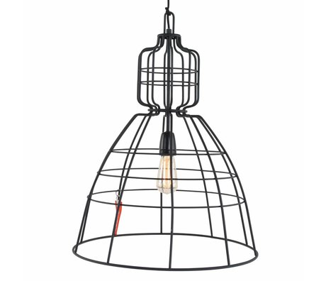 Anne Lighting Hanglamp Anne MarkllI zwart metaal ø48x68cm